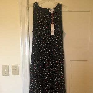 NWT polka dot dress